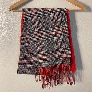 Vintage Ralph Lauren Wool Scarf